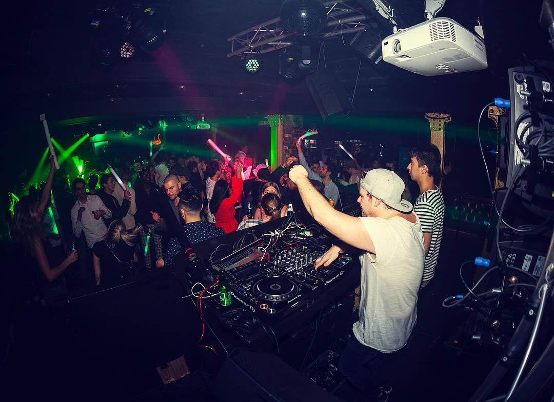 What a blast last time! Back in the box at @theclub_oslo ...