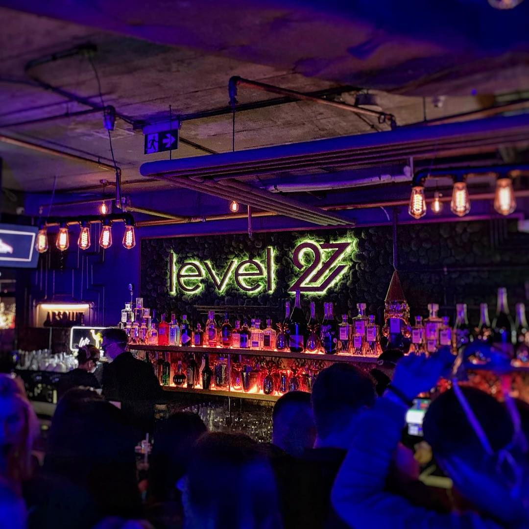 Spent my final night in Warsaw at Level 27, one of the hi...