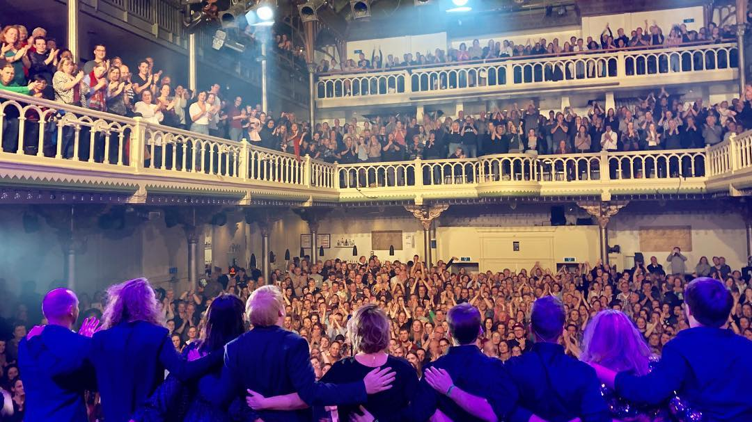 Paradiso, Amsterdam 2018. It was a great concert. Thank y...