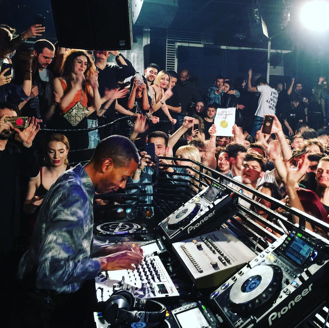 @jeff_mills_official at @goaclubrome<br />