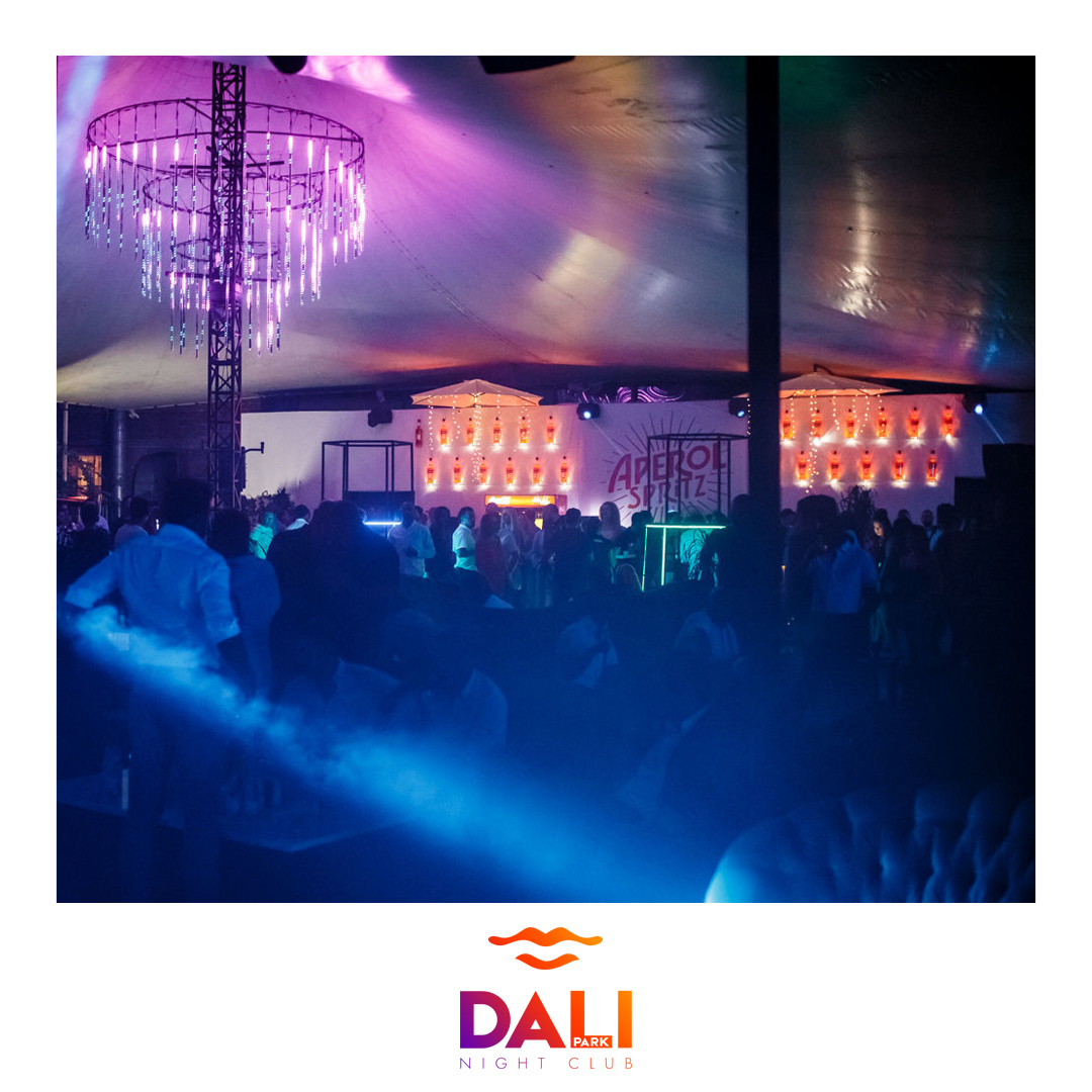 Our night is full of colours!<br /> #dalipeople #dalipark...