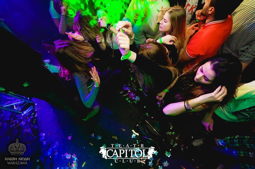 #Warsaw #Poland #Europe #CapitolClub #autumn #party #cock...