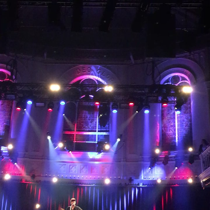 Part of our team went to #paradisoamsterdam for a great c...
