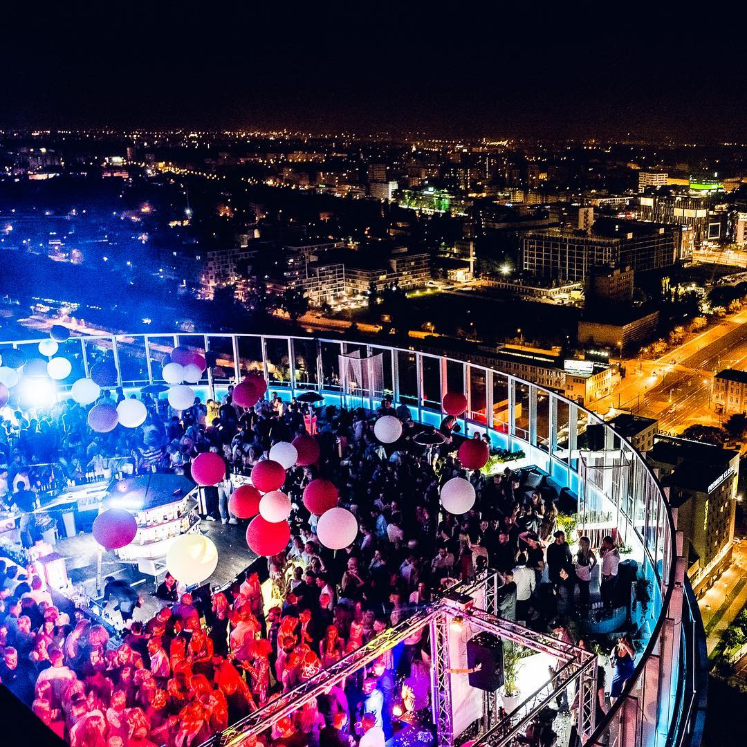 Rooftop night clubs is the shit <br /> Welcome to @level2...