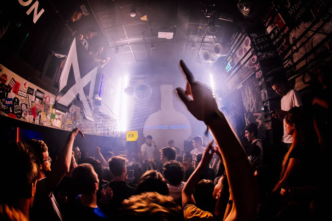 Crazy start of ADE with the label night of @maxximizerec ...