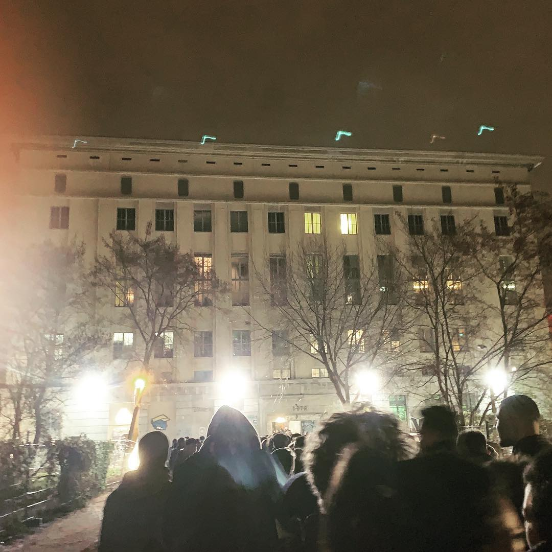This is the only photo that I have from Berghain. It will...