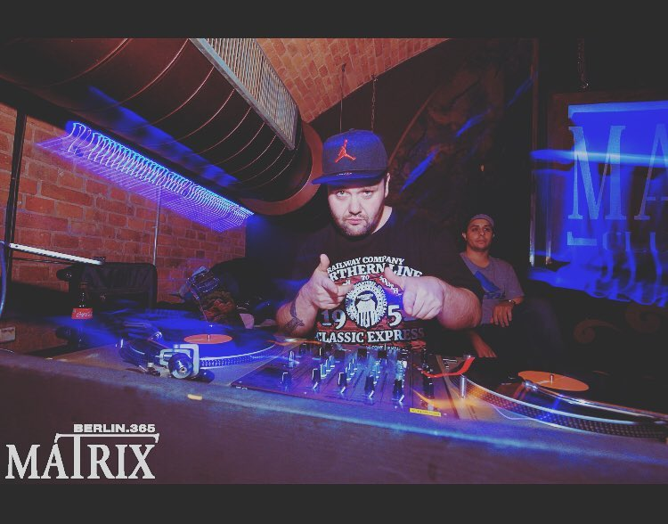 Rockin the @matrix.club.berlin tonight...home sweet home